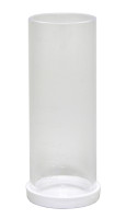 Taylor Sample Tube, Graduated (25 mL) w/ cap, plastic (9198)8
