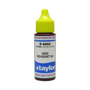 Taylor DPD #2 Reagent - 3/4 Oz. Dropper Bottle (R-0002-A)
