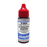 Taylor pH Indicator Solution #14 Reagent - 3/4 Oz. Dropper Bottle (R-0014-A)