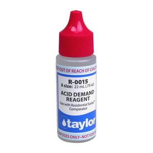 Taylor Acid Demand #15 Reagent - 3/4 Oz. Dropper Bottle (R-0015-A)