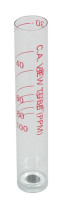 Taylor Tube CYA Graduated 30-100 ppm (10 ppm Divisions) - Plastic (9197)