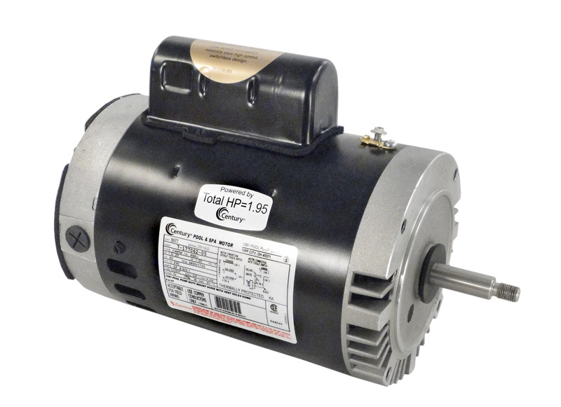 A.O. Smith - Pentair Pumps; 1 HP 230V 2 SPEED 56J; B2977