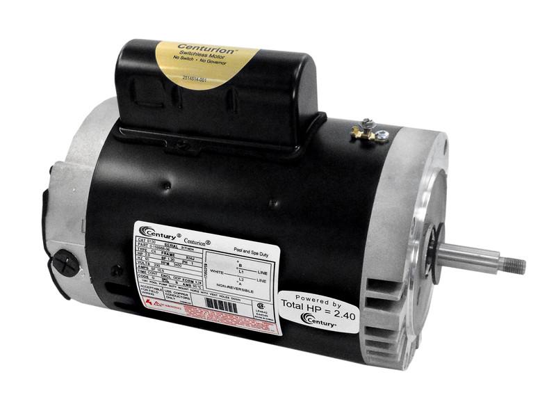 A.O. Smith - Pentair Pumps; 2 HP THRD. SHAFT MOTOR; B130