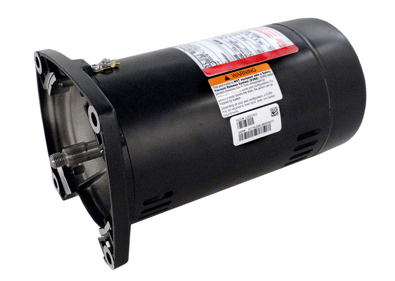 A o smith pentair pumps 1 2hp square flange motor for Square flange pool pump motor