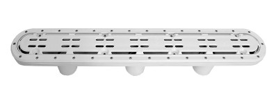 Aquastar; 32IN CHANNEL DRAIN AE COVER AND; 32CDAVV101