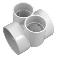 Aquastar; BUSHING WITH TWO 2 1/2IN SLIP TO 4IN; BFB101