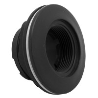 Aquastar; LARGE WALL FITTING WITH VINYL GASKETS AND 2IN NUT 1 1/2IN FPT; ES1022V05