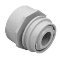 Aquastar; FLUSH MNT AIM FLOW/WATER BARRIER  FITS OVER 2IN PIPE WITH 1IN ORIFICE; AS3501