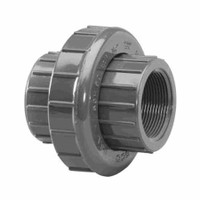 "Lasco 1/2"" Schedule 80 PVC Union Threaded, 898005 (PXX-56-8550)"