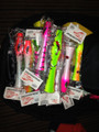 New specially designed poppers from Alta Pesca Pro Shop in Panama - the fishing capital of the world!  A uniquely fresh design that throws a lot of water, gives great distance and is easy for the beginner to produce big results on Tuna, Cubera Snapper, Roosterfish, Amberjack and more!