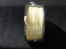 """High quality USA Made Kevlar Cord that is un-dyed and will not stain your hands or tackle box.  100 foot roll is enough to make more than 120 Assist Hooks. A single overhand knot, insert point of the hook through the knot, pull tight, pull loop cord through eye of hook and your done. its very simple. Please see video of how easy and fun it is to make your assist hooks. 100 lb = .020""""-.022""""  ** this is the size you want for small hooks like 1/0 to 3/0 this will fit through the eye, where as the #200 is too thick for those smaller hooks.  Good for Saltwater and Fresh water fishing. 200 lb = .030 300 lb = .049""""-.050"""" 500 lb = .068"""" 700 lb = .090"""""""