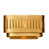 GA-002 TARYA WALL SMALL Gold - Full Brass