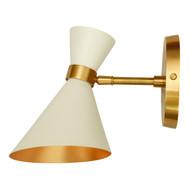 GC-003 PEGGY WALL SMALL LAMP - White - DAMAGED - DA-326