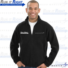 Run It Right full zip fleece jacket