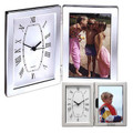 "Jadis I Hinged Clock & 4"" x 6"" Photo Frame"