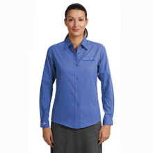 Run It Right Ladies Long Sleeve Easy Care Shirt