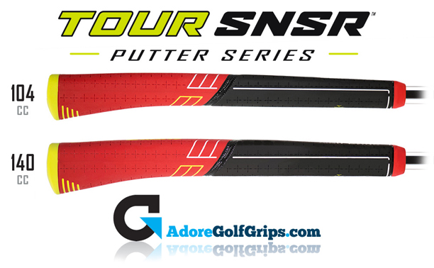 golf-pride-tour-snsr-contour-pistol-putter-grips-side-profiles-black-red-yellow.jpg