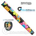 TourMARK Loudmouth Magic Bus Jumbo Pistol Putter Grip - Black / Orange / Pink / Blue