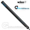 Winn 15 Inch Long Pistol Counterbalance Putter Grip - Black / Blue