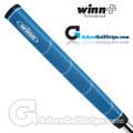 Winn Excel Medallist Jumbo Pistol Lite Putter Grip - Blue / White