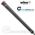 Winn Dri-Tac Wrap Grips – Dark Grey / Red