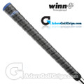 Winn Dri-Tac Wrap Midsize Grips – Dark Grey / Blue