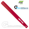 Pure Grips Midsize Paddle Putter Grip - Red