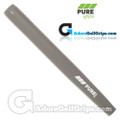 Pure Grips Midsize Paddle Putter Grip - Grey