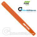 Pure Grips Midsize Paddle Putter Grip - Orange