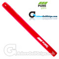 Pure Grips Classic Paddle Putter Grip - Red