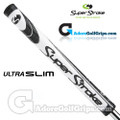 SuperStroke Ultra Slim 1.0 Legacy Series Putter Grip - White / Black