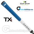 SuperStroke TX1 Tour Extreme Half Cord Grips - White / Blue