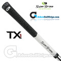 SuperStroke TX1 Tour Extreme Midsize Half Cord Grips - White / Black