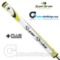 SuperStroke Mid Slim 2.0 XL Plus Legacy Series Counter Core Putter Grip - White / Yellow