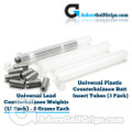 Universal Lead Counterbalance Weights (12 Pack) - 6 Grams Each