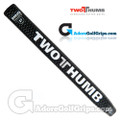2 Thumb Snug Daddy 27 Putter Grip - Black / White / Silver