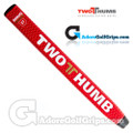 2 Thumb Snug Daddy 27 Putter Grip - Red / White / Gold