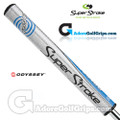 SuperStroke Odyssey Mid Slim 2.0 Putter Grip - Silver / Blue / Black