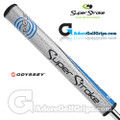 SuperStroke Odyssey Slim 3.0 Putter Grip - Silver / Blue / Black