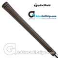TaylorMade Bubble Crossline Replacement Grips By Lamkin - Black / Gold
