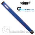 Winn Excel Midsize Pistol Putter Grip - Blue / Silver / Red