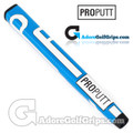 ProPutt Ergo Jumbo Pistol Light Putter Grip - Blue / White