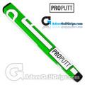 ProPutt Ergo Jumbo Pistol Light Putter Grip - Green / White