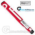 ProPutt Ergo Jumbo Pistol Light Putter Grip - Red / White