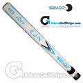 Arm-Lock Golf 17 Inch AL2 Series Giant Putter Grip - White / Blue / Black