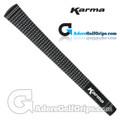 Karma Velour Jumbo Grips - Black / White