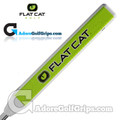 Flat Cat Golf Fat 12 Inch Jumbo Putter Grip - White / Green / Black