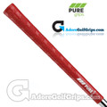 Pure Grips DTX Standard Grips - Red
