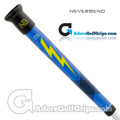 Never Bend Pro 300 Super Jumbo Putter Grip - Blue / Yellow / Black