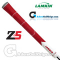 Lamkin Z5 Multicompound Cord Midsize Grips - Red / White / Grey